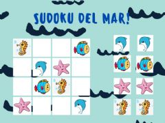 Interactive worksheet Sudoku del mar!