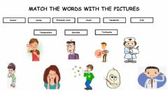 Interactive worksheet Illness
