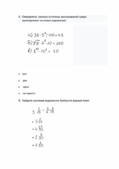 Interactive worksheet Проверка знаний дроби 5 класс