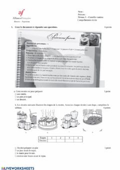 Interactive worksheet 2 - CE n°3