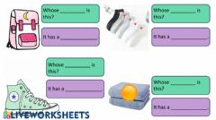 Interactive worksheet Grade 5 Lesson 4 Fill in the Blanks