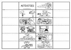 Interactive worksheet CEFR YEAR 2 : Unit 5 Free Time (page 60)