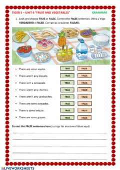 Interactive worksheet There is -There are