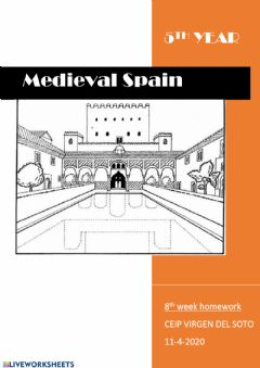 Interactive worksheet Medieval Spain vocabulary