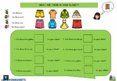 Interactive worksheet Listening and Speaking: There is- there are