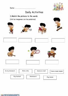 Interactive worksheet Extra - 3rd Form