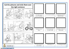 Interactive worksheet Daily Ted routine