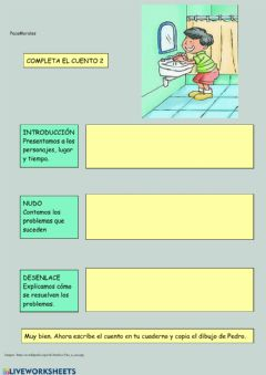 Interactive worksheet Completa el cuento 2