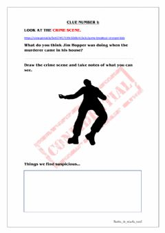 Interactive worksheet Stranger Kids 2