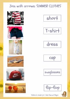 Ficha interactiva Summer clothes