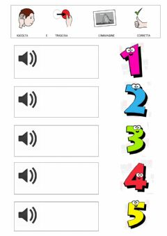 Interactive worksheet i numeri in inglese