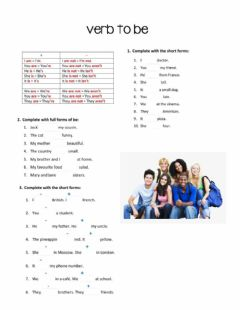 Interactive worksheet Be
