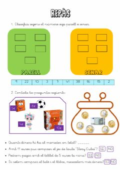 Interactive worksheet Repàs