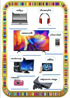 Interactive worksheet Devices