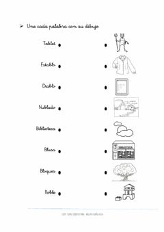 Interactive worksheet Flechas BL