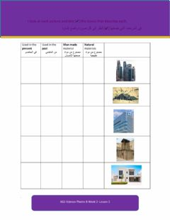 Interactive worksheet Biluding in the past and the present