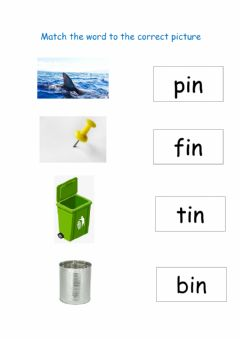 Interactive worksheet Match the picture to the word in family