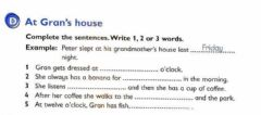 Interactive worksheet What a great grandmother!