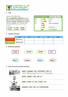 Interactive worksheet Unit 2 - Lesson 5