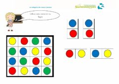 Interactive worksheet Puzle círculos colores
