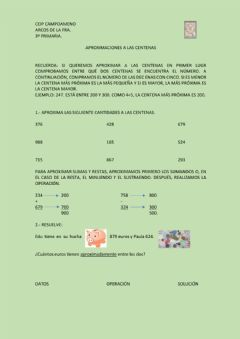 Interactive worksheet Aproximaciones