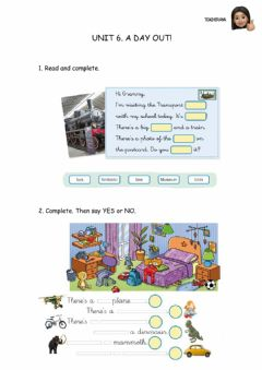 Interactive worksheet There's