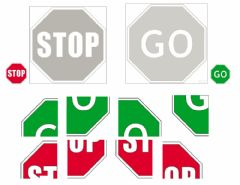 Interactive worksheet STOP & Go PUZZLE