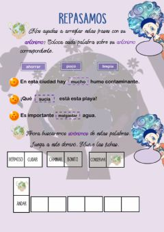 Interactive worksheet Repaso lengua castellana