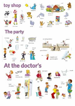 Ficha interactiva Movers Word list Picture Dictionary