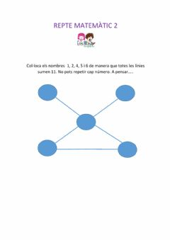 Interactive worksheet Repte mtemàtic 2
