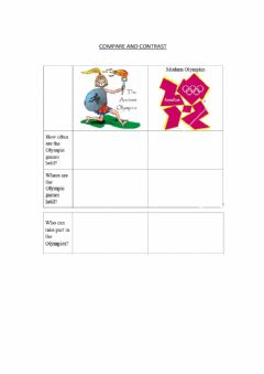 Interactive worksheet Ancient Olympic Games