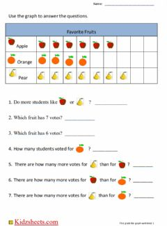 Interactive worksheet Picture Graph