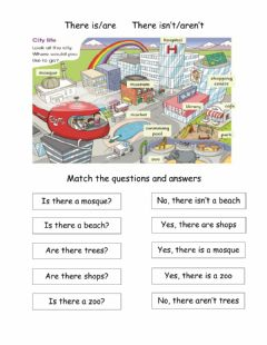 Interactive worksheet What's in the city?