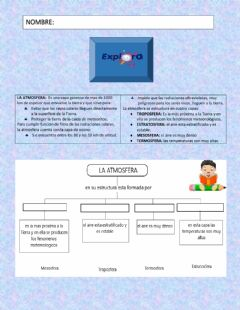 Interactive worksheet Explora clase 1