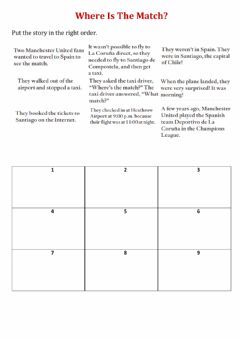 Interactive worksheet Fourth cycle unit 7b   story 1
