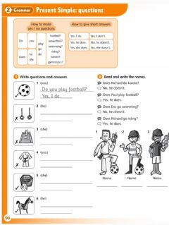 Interactive worksheet Present simple questions