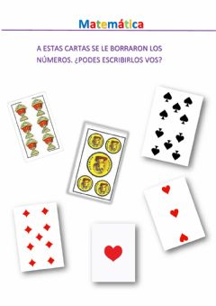 Interactive worksheet Cartas