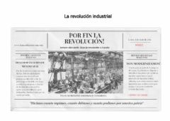 Interactive worksheet La Revolución Industral