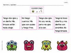 Interactive worksheet Descripción-comprensión