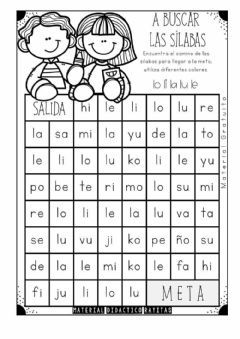 Interactive worksheet Laberinto LA LE LI LO LU