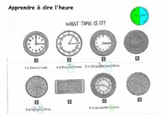 Interactive worksheet Time-part1