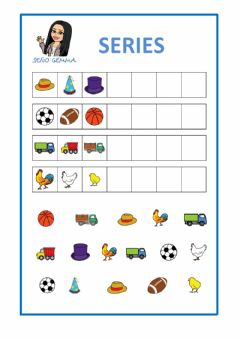 Interactive worksheet Series - dibujos