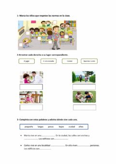Interactive worksheet Examen Sociales