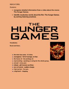 Ficha interactiva The hunger games