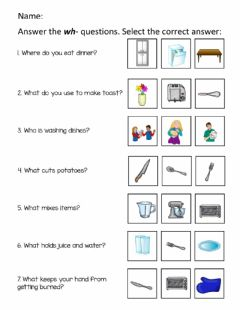Interactive worksheet Answer the wh-Questions