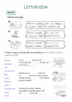 Interactive worksheet Review 1º