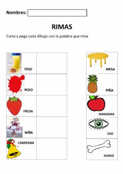 Interactive worksheet Rima 1