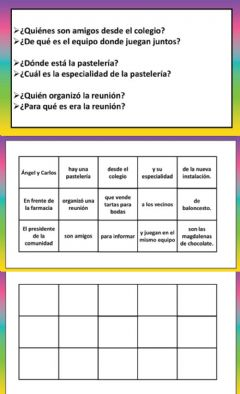 Interactive worksheet Ordenar oraciones 2