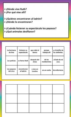 Interactive worksheet Ordenar oraciones 3