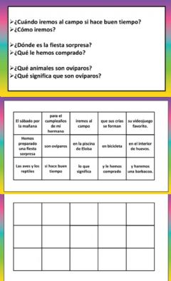 Interactive worksheet Ordenar oraciones 4